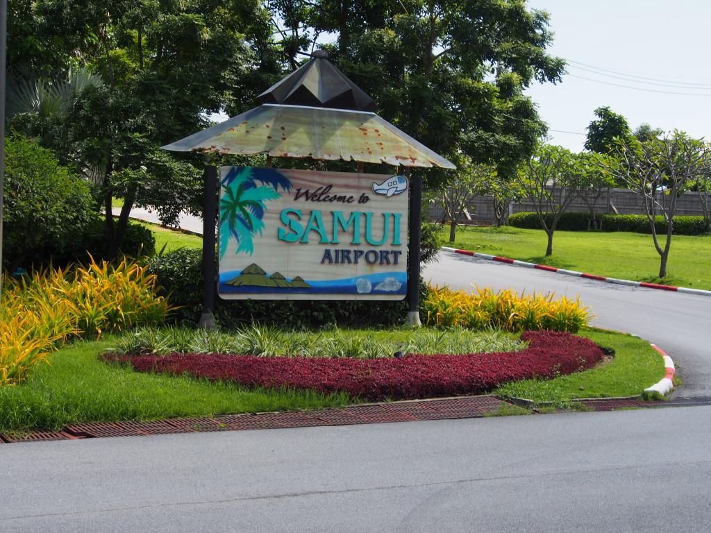 Koh Samui Airport.