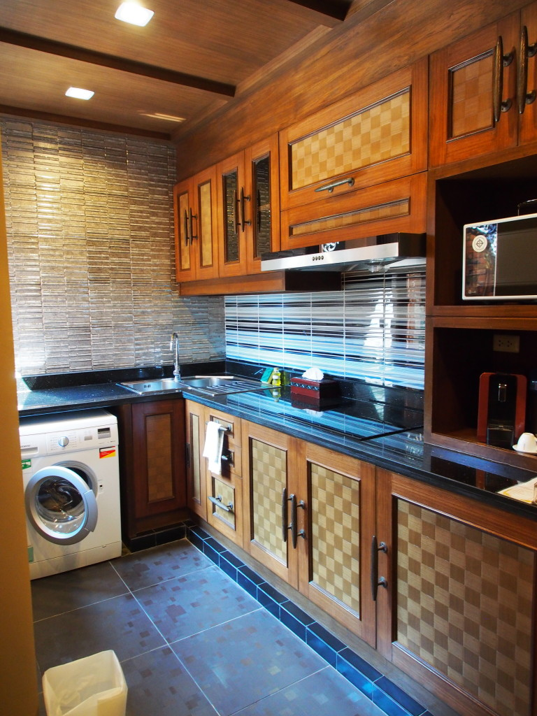 Large kitchen.