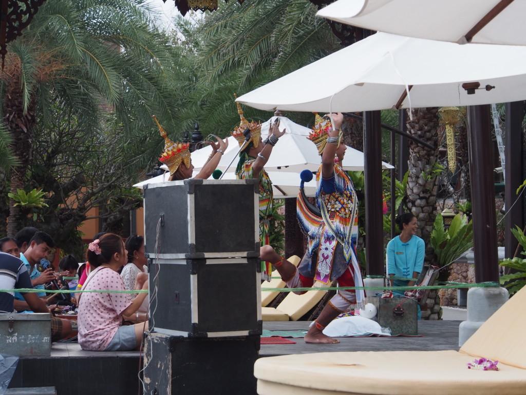 Thai Buddhist ritual.