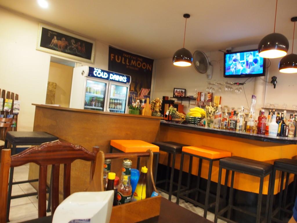 ISky corner restaurant.
