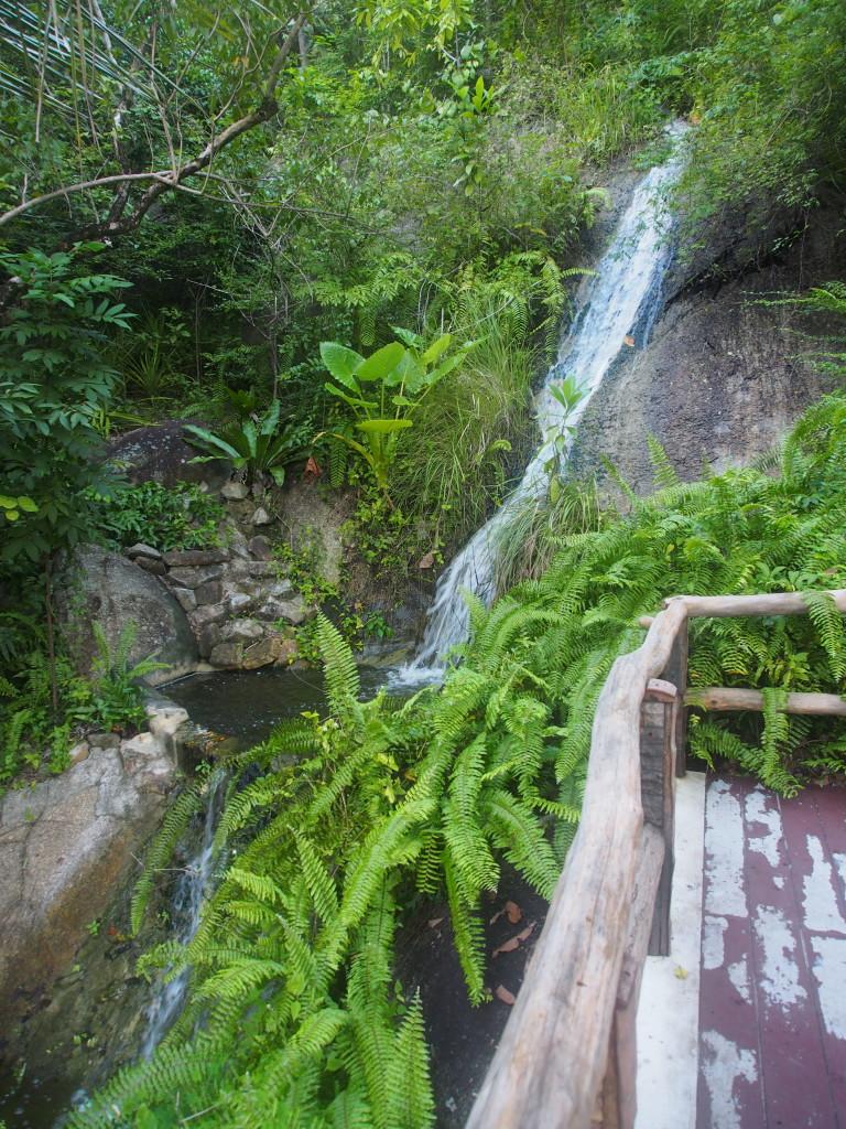 Siva waterfall.