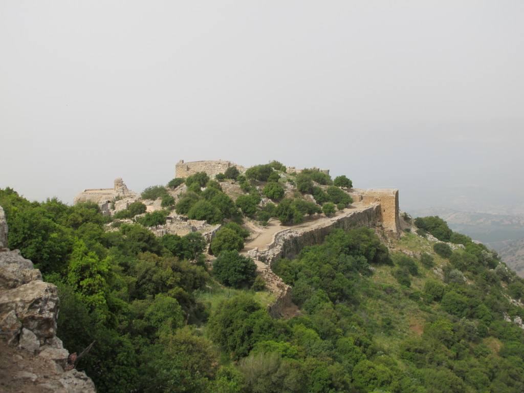 View from the top of the fortress.