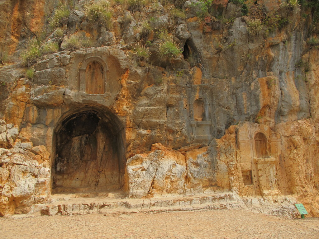 At the Grotto of God Pan.