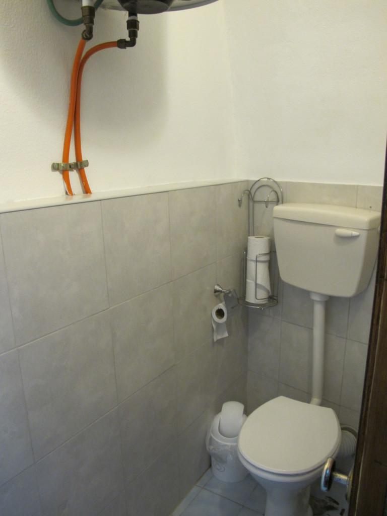 Simple toilet.