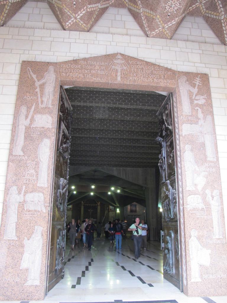 Doorway of the church.