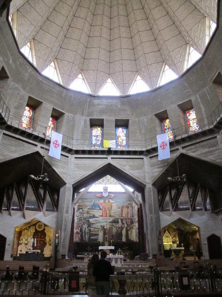 Inside the Church of St. Joseph next door.