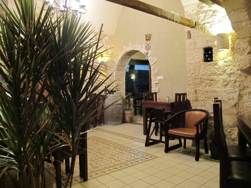 Inside Annai bar restaurant.