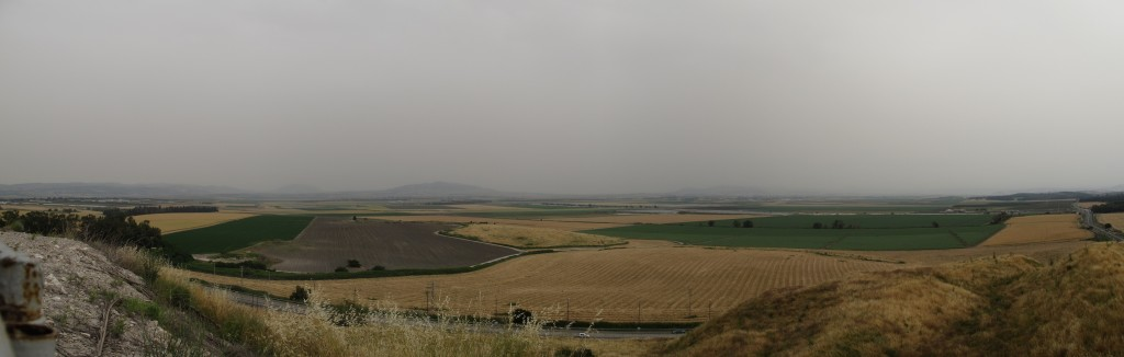 Viewpoint from Megiddo.