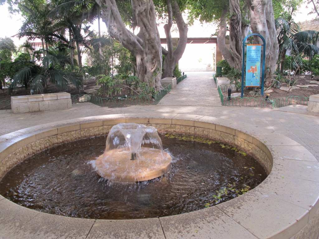 Fountain at the city of Acre.