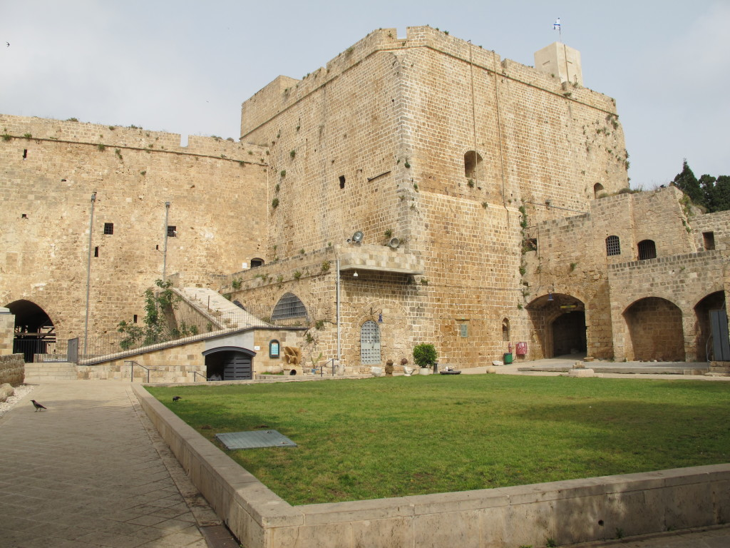 Surrounding walls of Acre fort.
