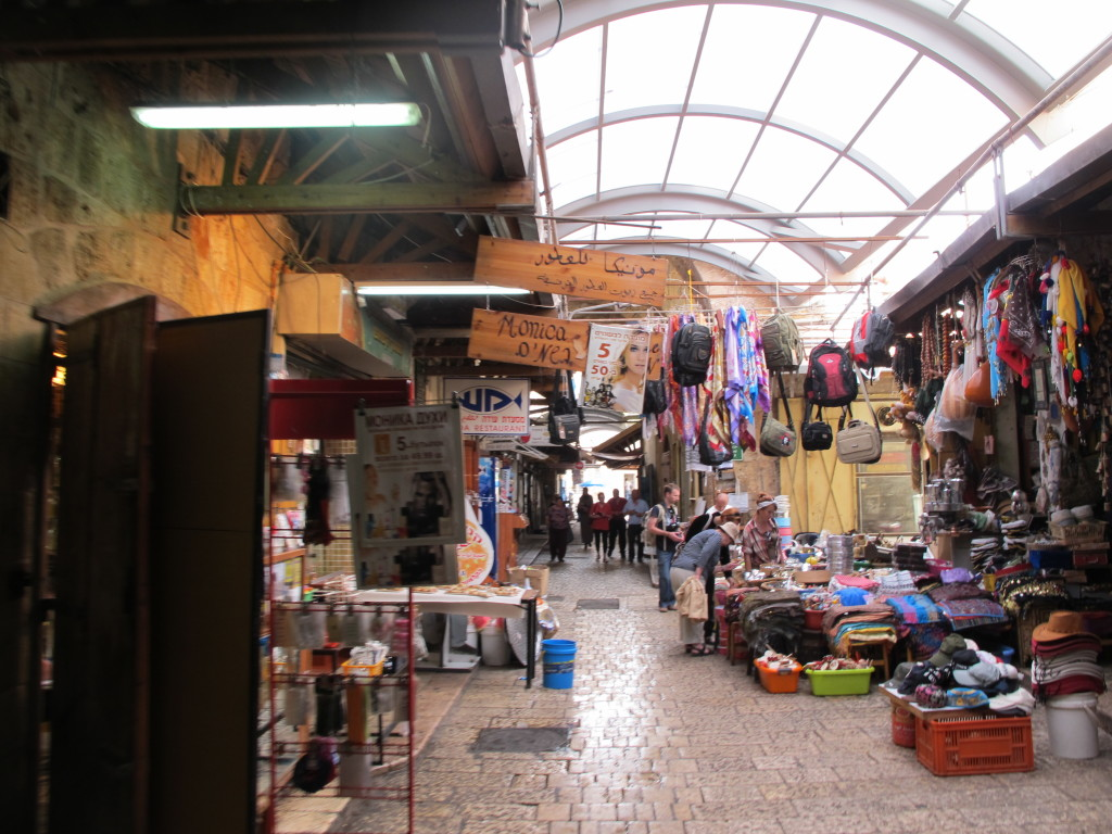 Markets selling everyday stuff at Acre.