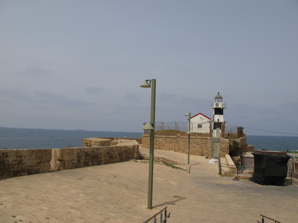 Lighthouse near the Acre fort.