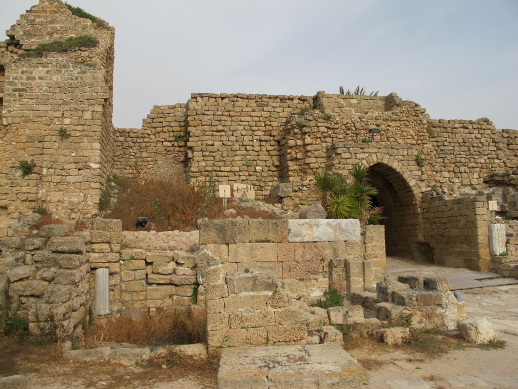 What's left of the ancient city.