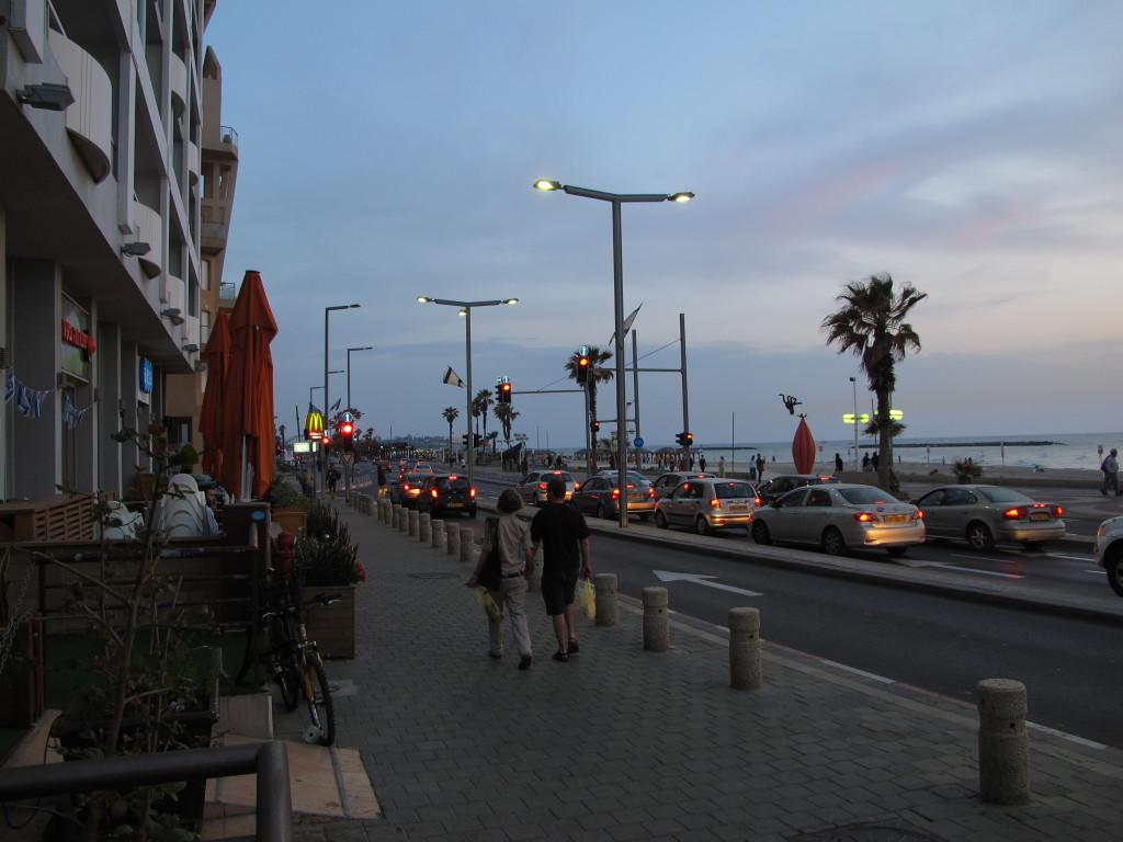 Streets of Tel Aviv.