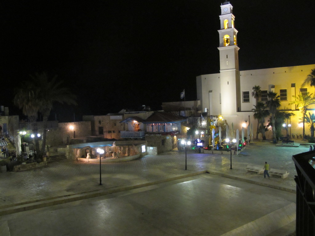 Kedumin square at Jaffa.