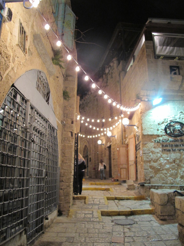 Felt like a return to the past looking at the corridors in Jaffa.