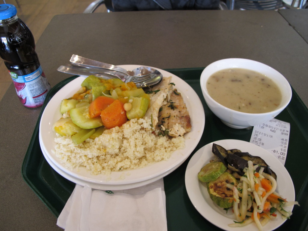 Lunch at the museum.