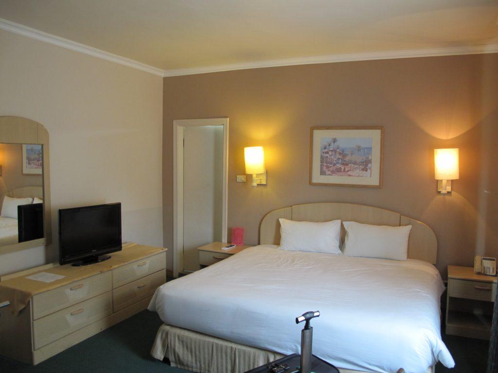 Larsa Hotel room.