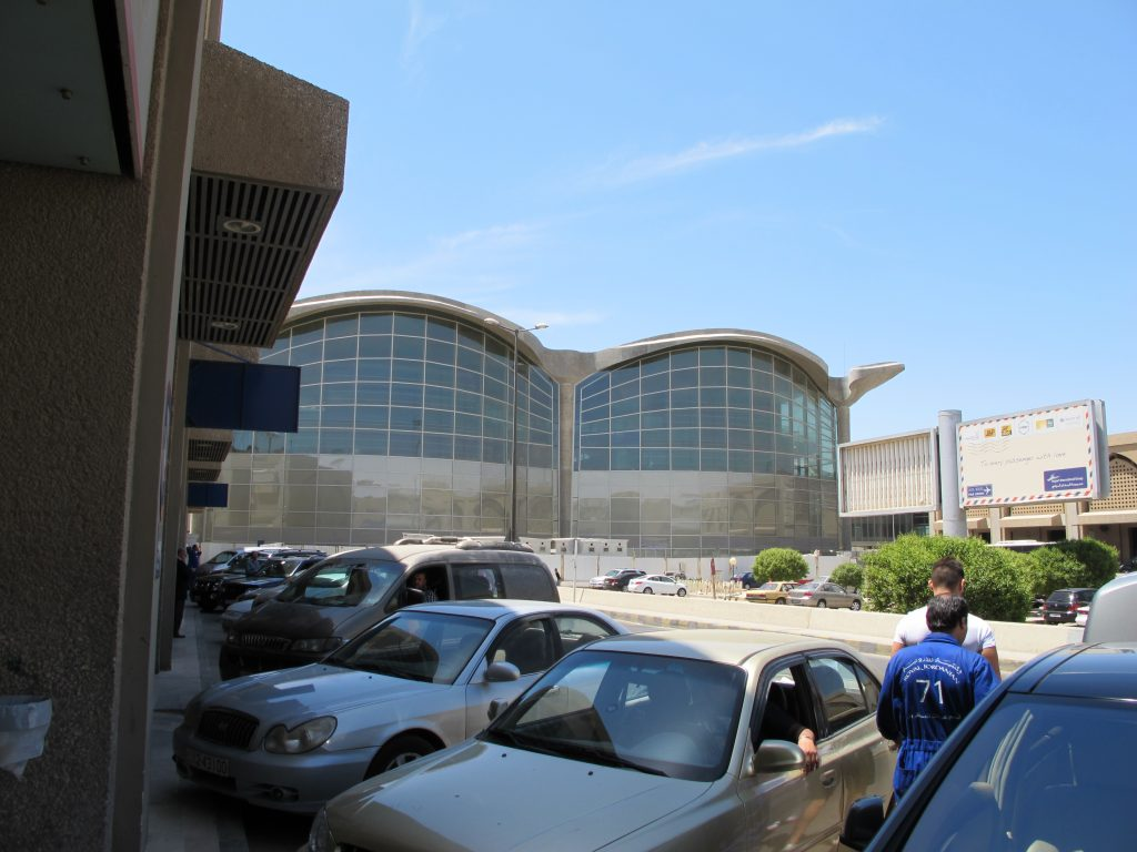 View of Amman airport.