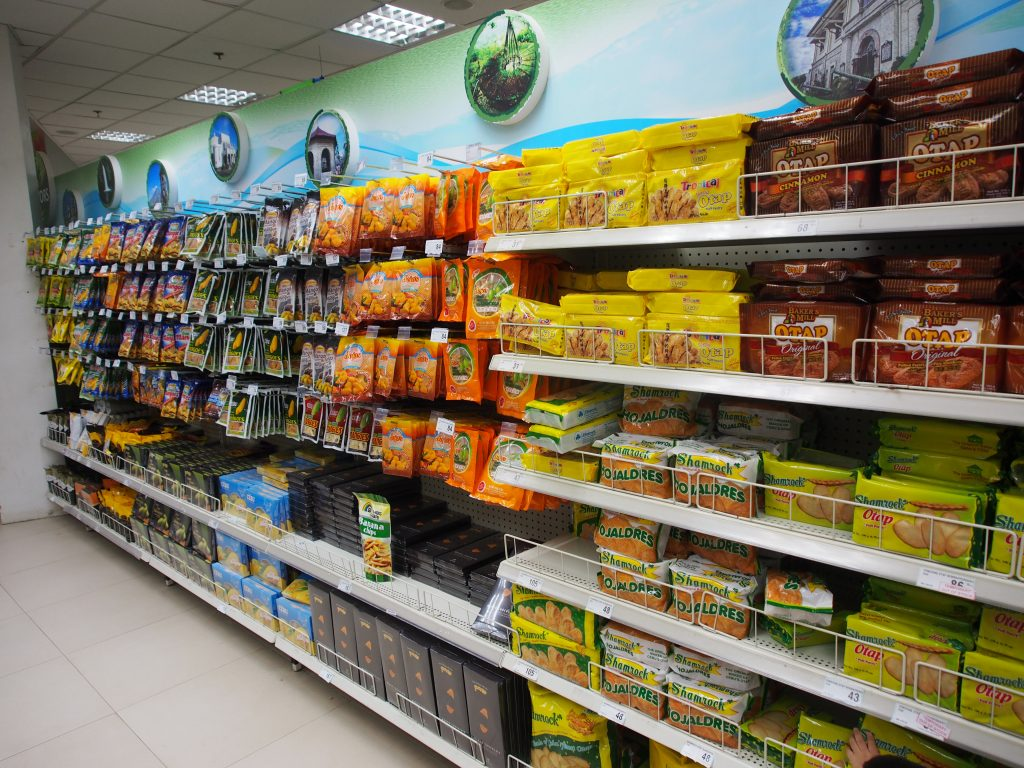 Cebu goodies - Otap and dried mangoes.