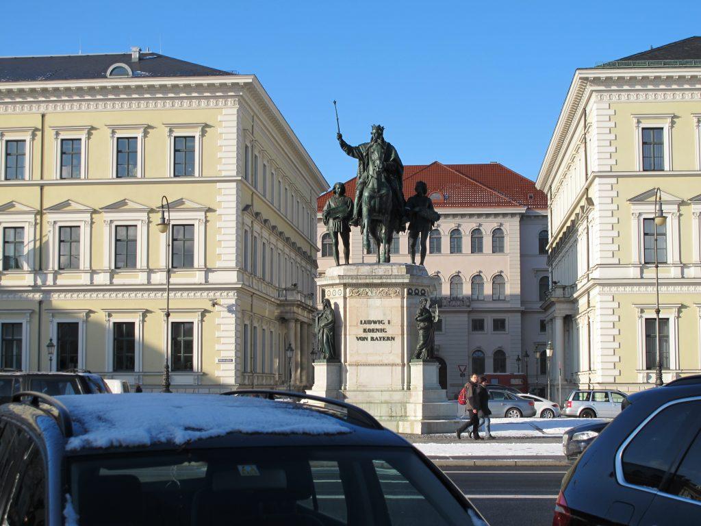 Statue in Munich.