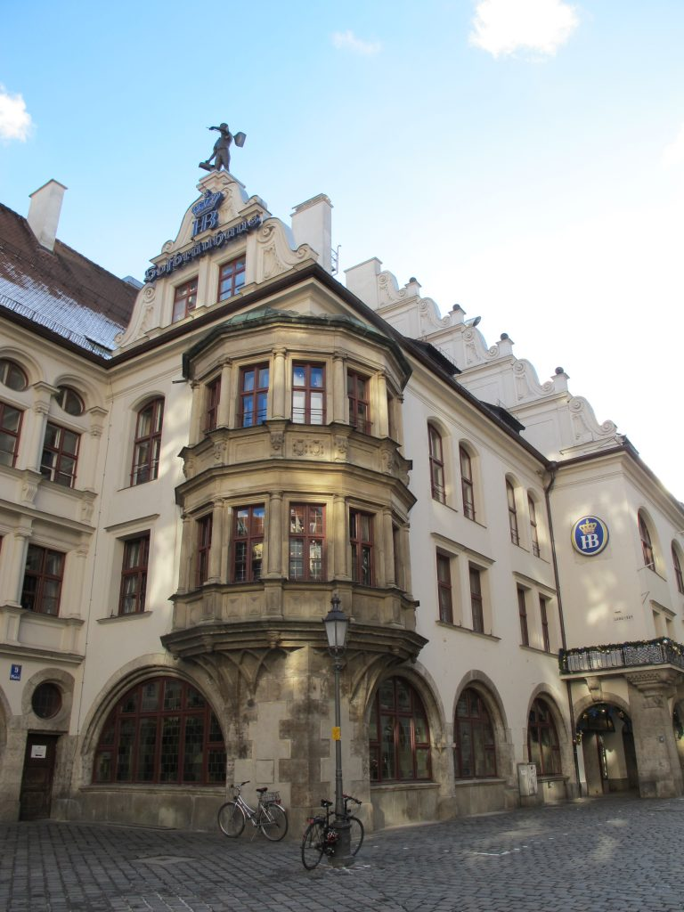Hofbrauhaus in the day.