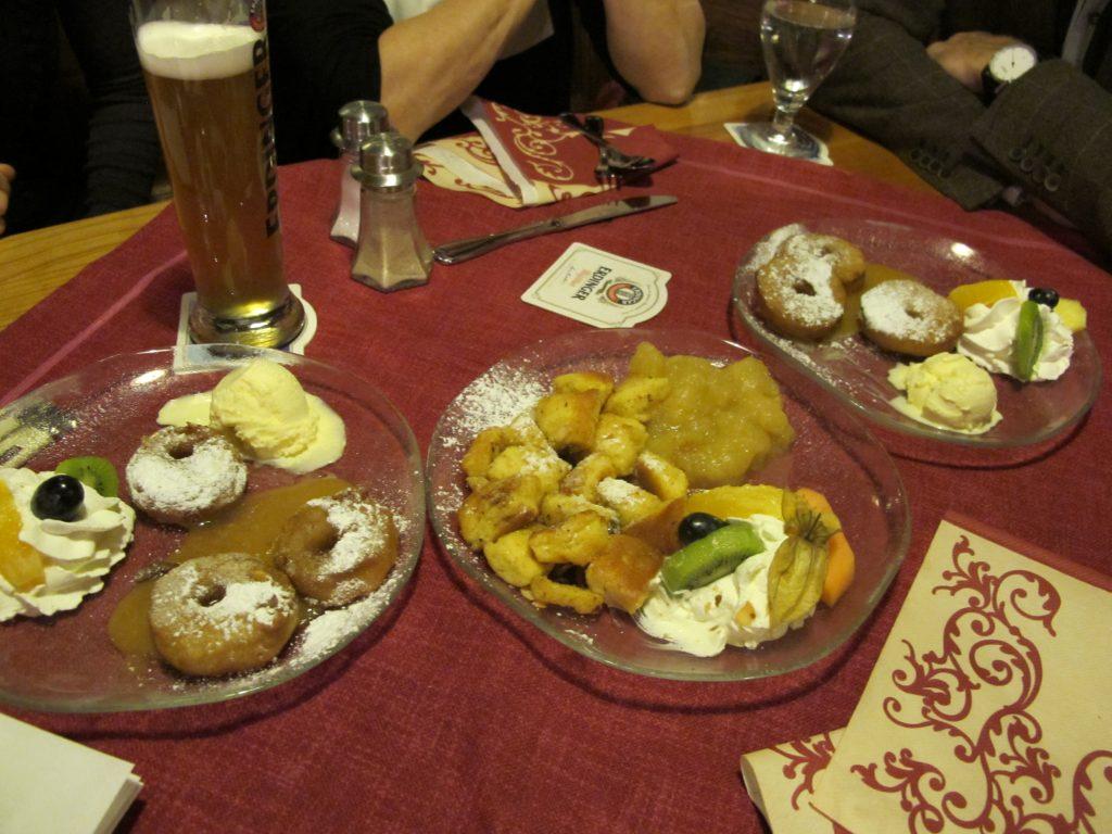 Great food and smooth German beer.