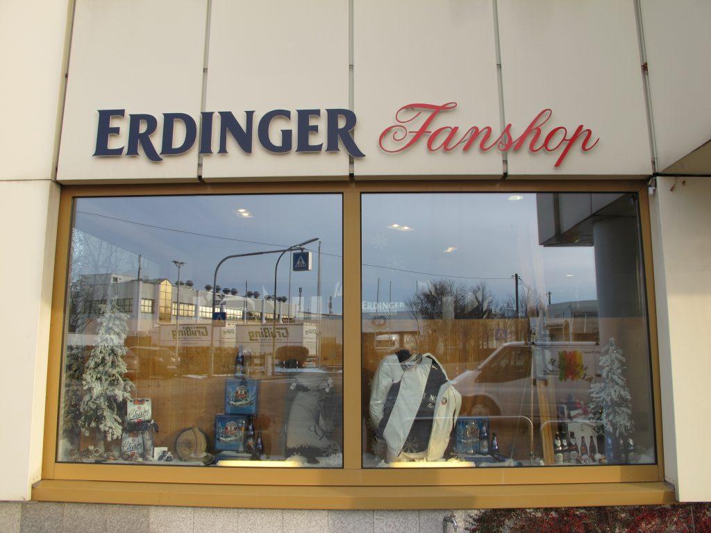 Erdinger shop.