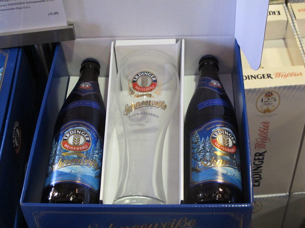 Packaged bottled beers.