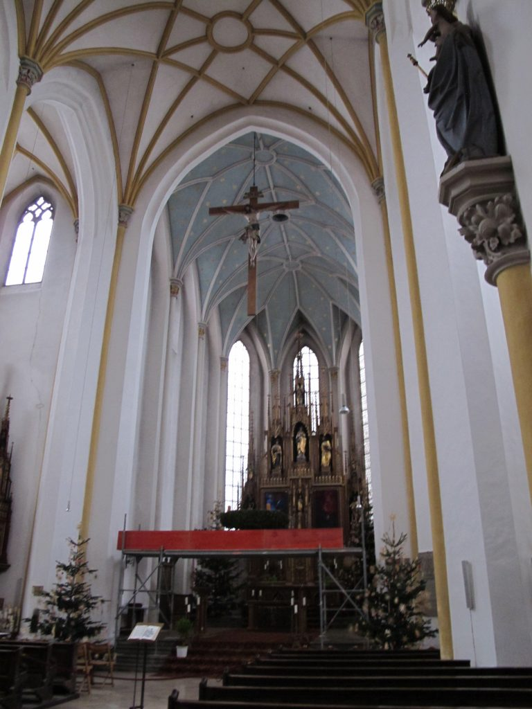 One of the cathedral in Erding.
