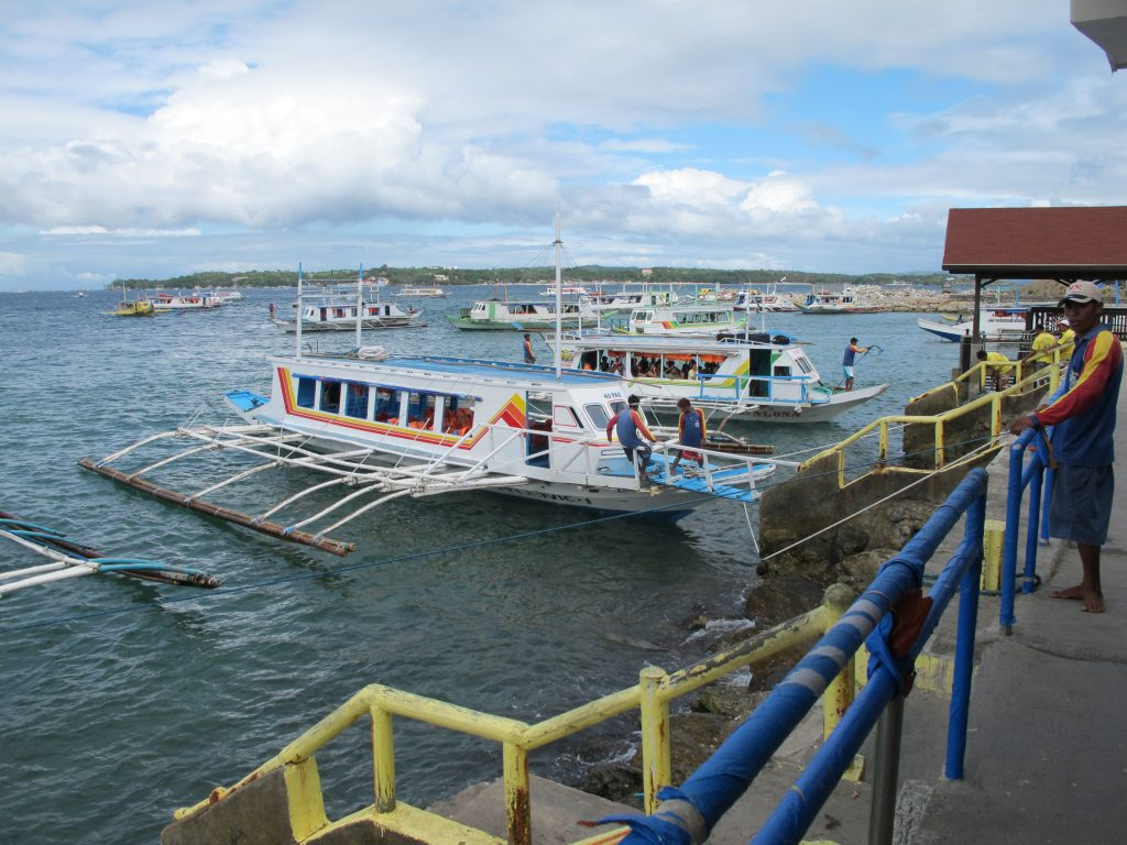 Our boat transfer to Boracay.