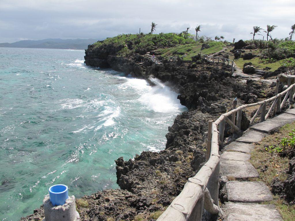 Lovely walkway along the coast.