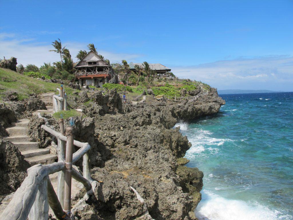 Picturesque island.