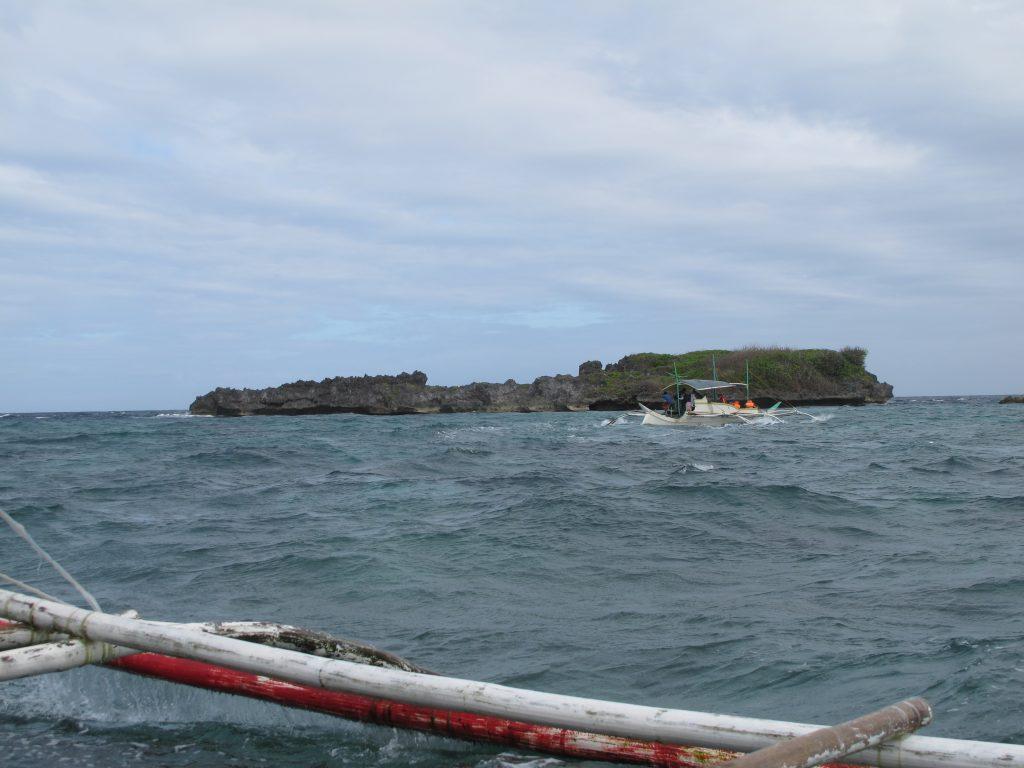 Crocodile island, that looked like a crocodile.