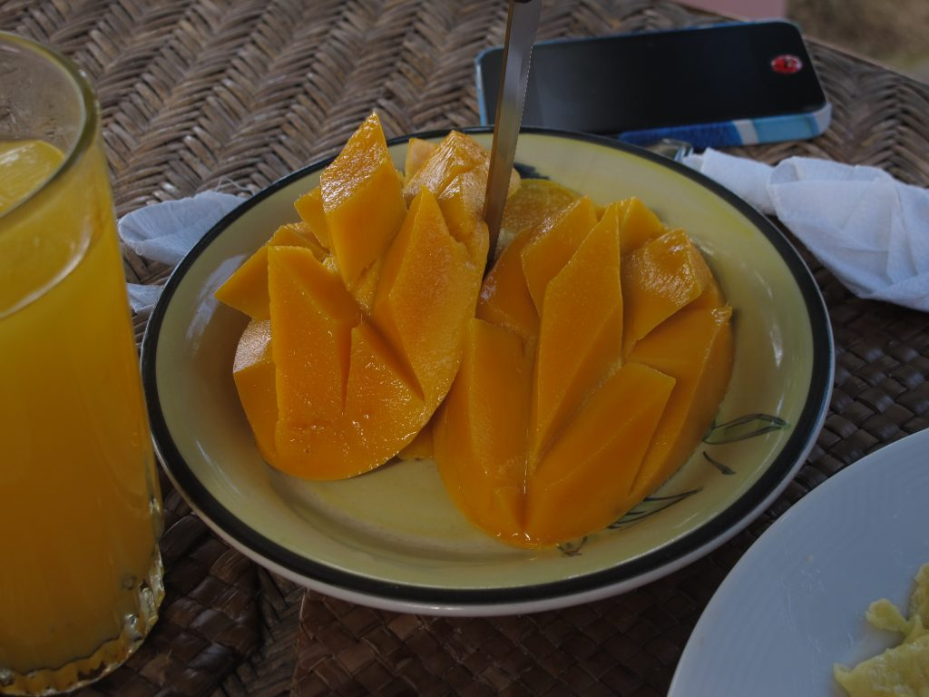 Fresh mango.