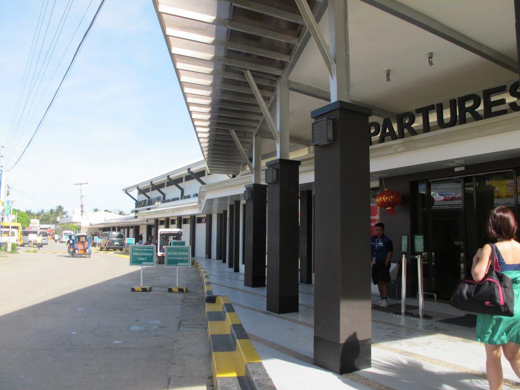 Boracay departures.