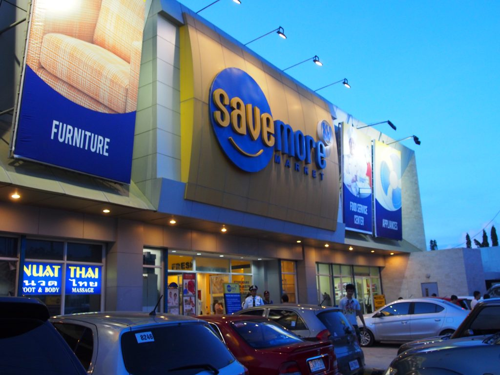 Savemore supermarket.