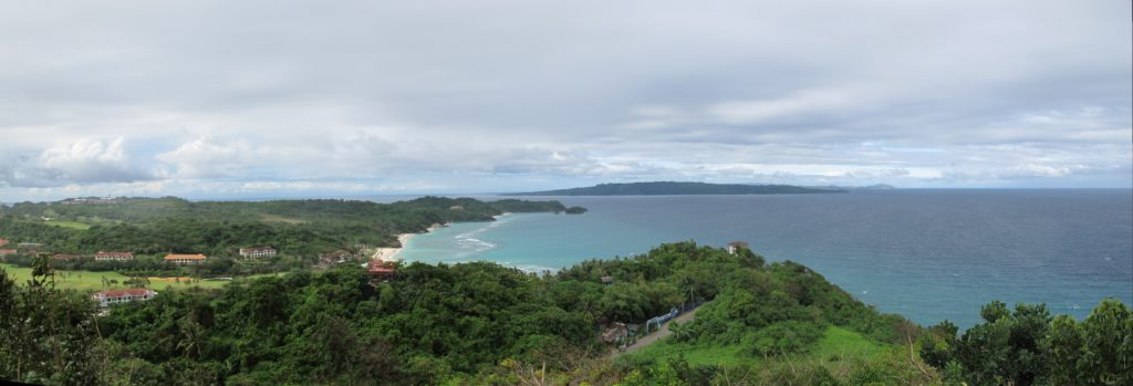 View from Mt. Luho.