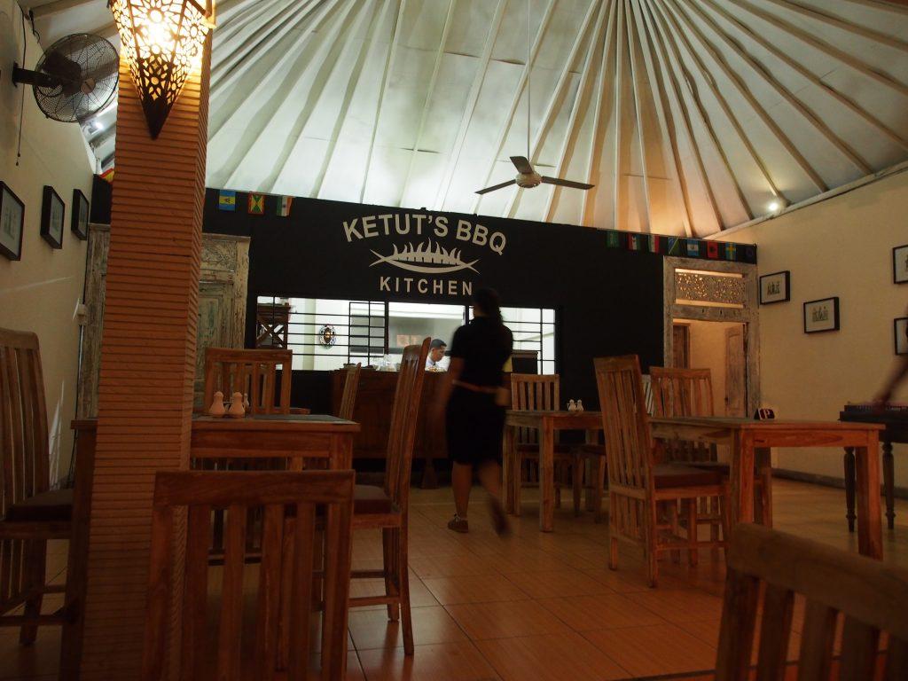 Ketut's kitchen.
