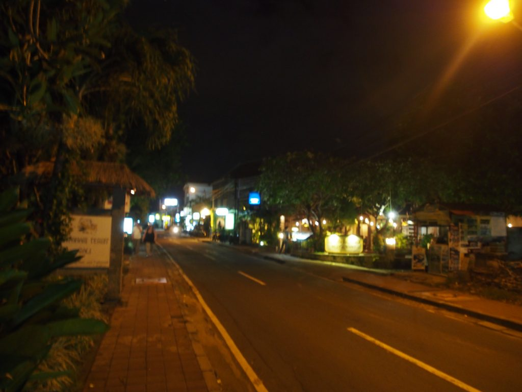 Nusa Dua street.