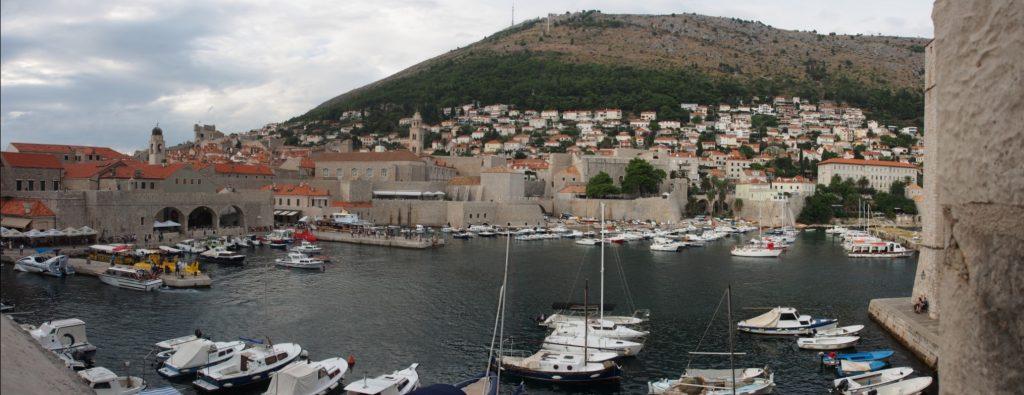 Dubrovnik Harbour Pano