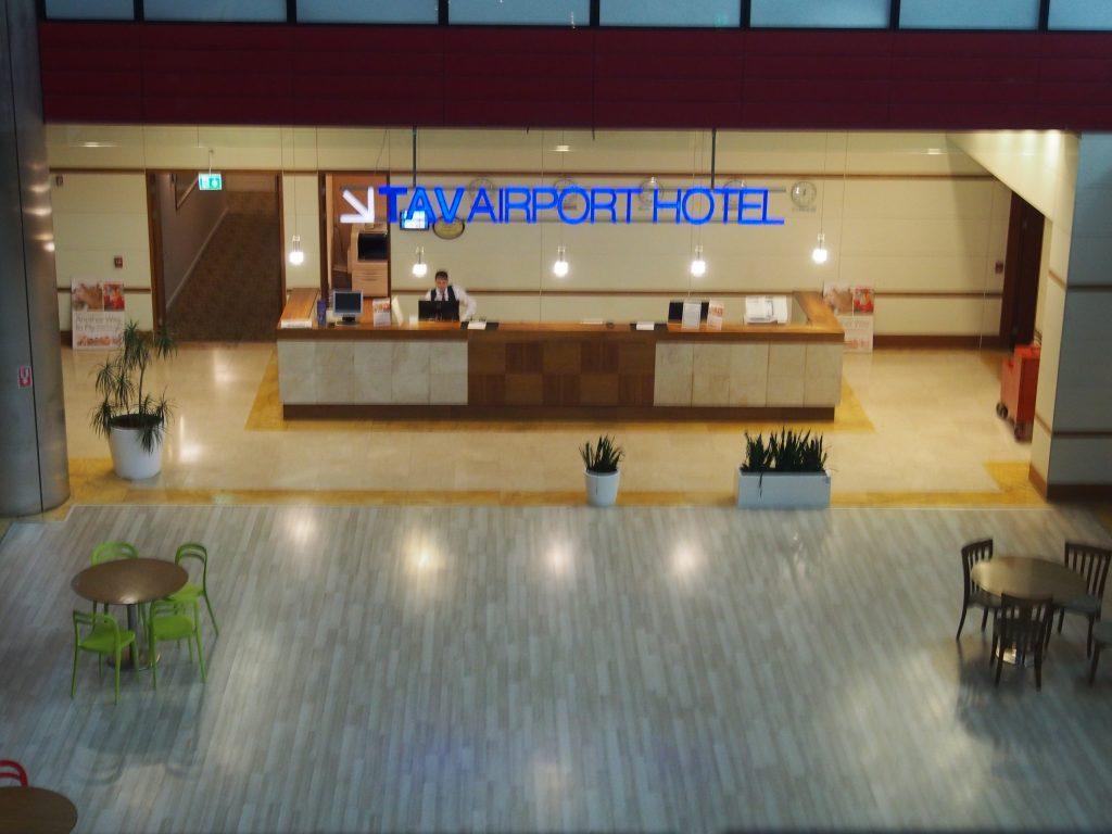 TAV airport reception