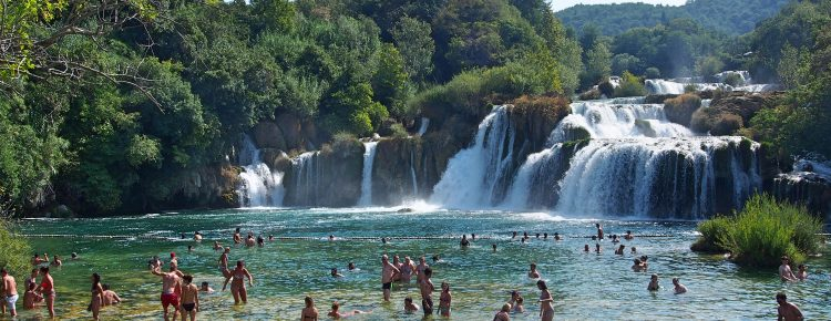 Krka Waterfalls And Sibenik Town Day Trip With Wine Tasting From Split Dalmatia County Tripadvisor