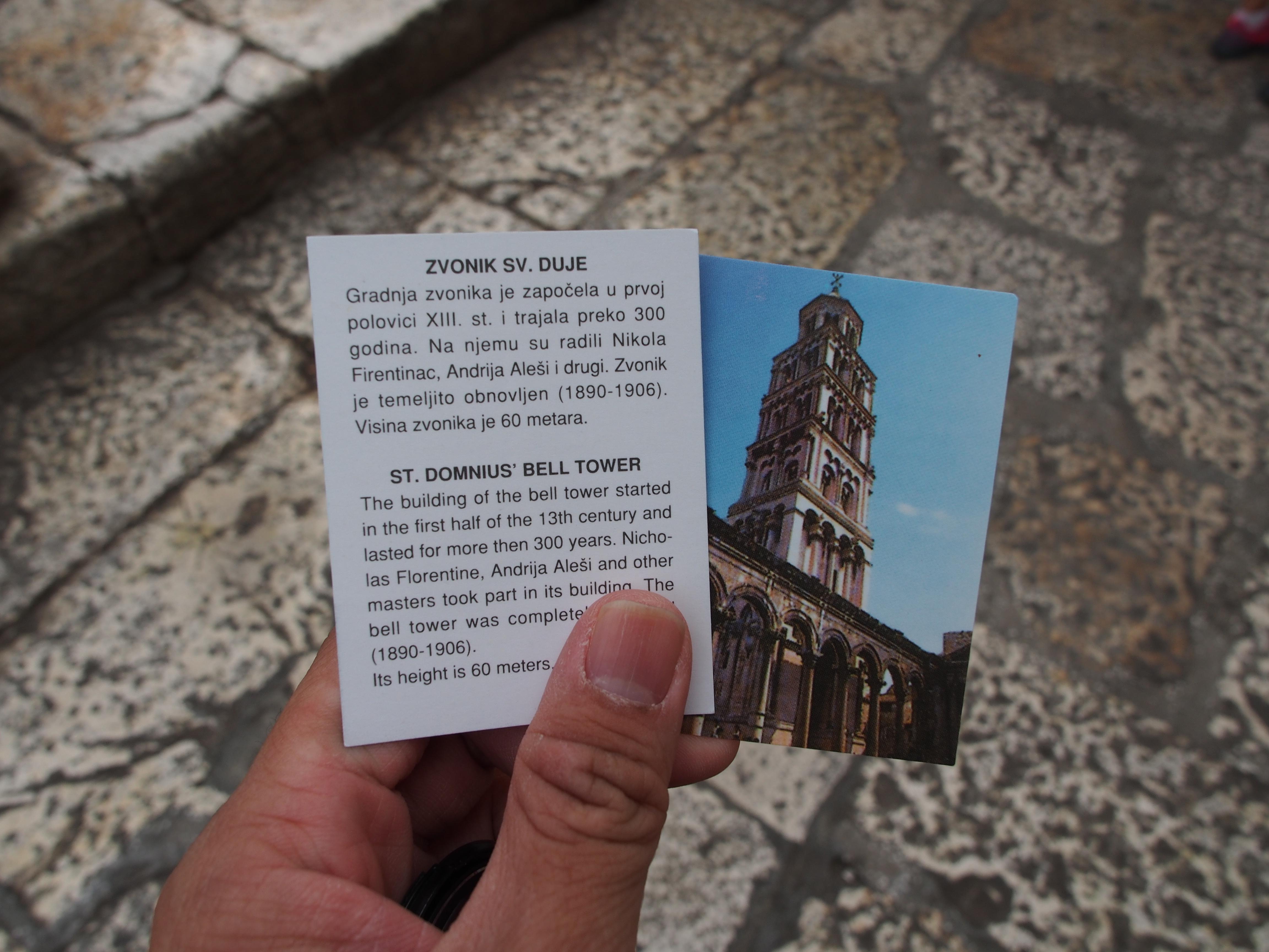 Zvonik tower perast height